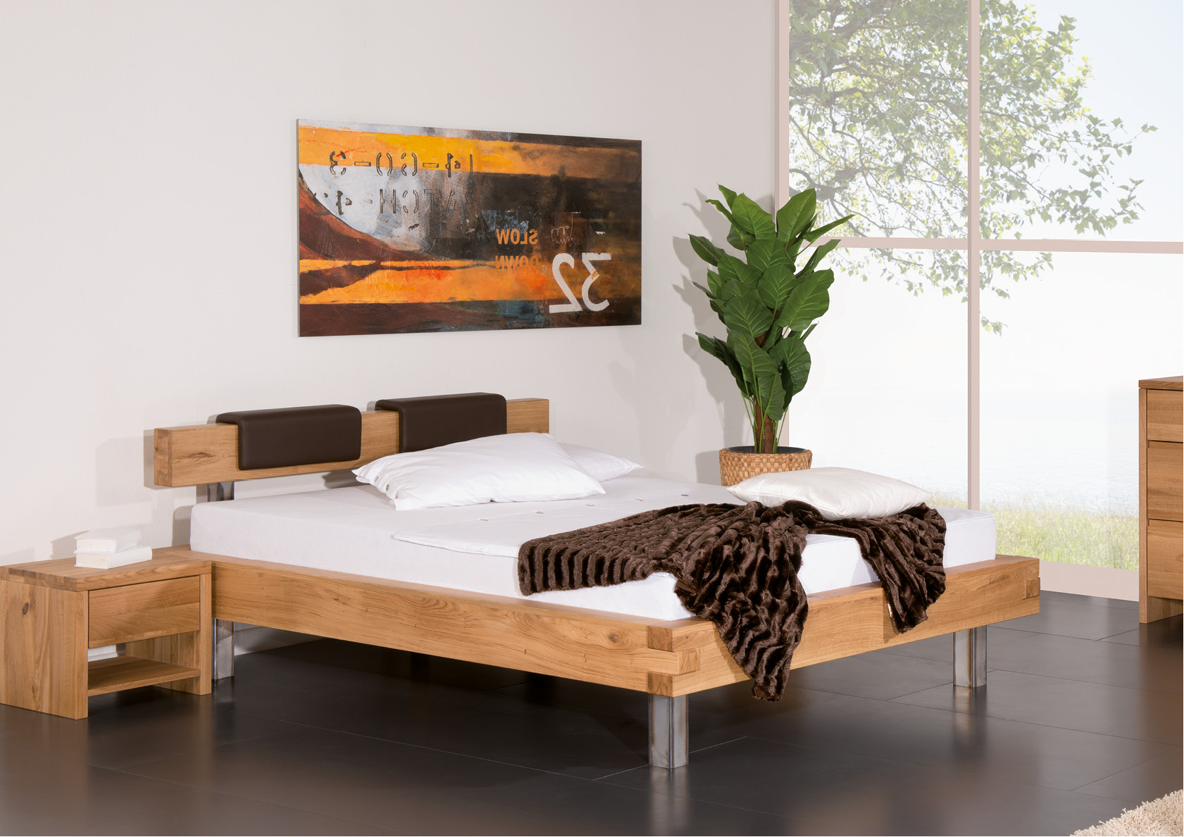 balkenbett pino betten thoba handels gmbh. Black Bedroom Furniture Sets. Home Design Ideas